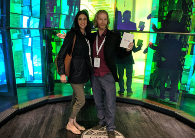 Carsen and Renu at Google's NYC Office
