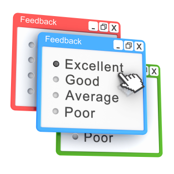 Positive online reviews